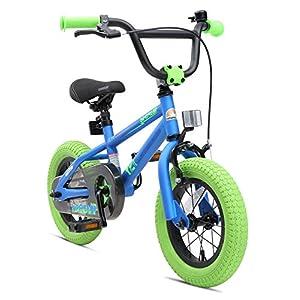 BIKESTAR Bicicletta Bambini 3-4 Anni da 12 Pollici Bici per Bambino et Bambina BMX con Freno a retropedale et Freno a…