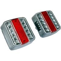 A.L.S. Las 10103 - Juego de faros traseros LED para remolque (12V)