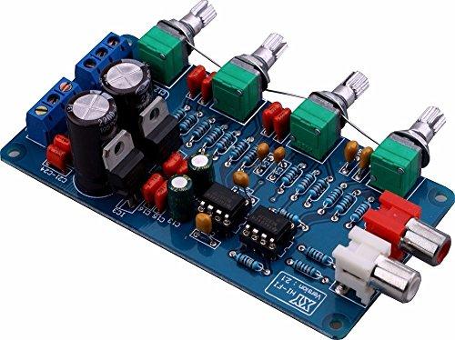 NE5532 Pre Amp Volume Control Board Ton fertig Board Kit 10 Mal DUAL AC 15 V Original HIFI Ton Einstellplatte Audioverstärker