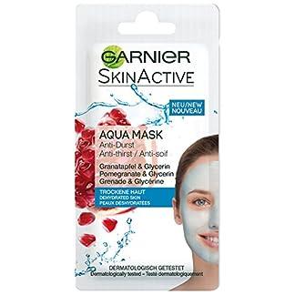 Garnier Skin Active Rescue Mask – Mascarilla Anti-Sequedad  con Granada y Glicerina
