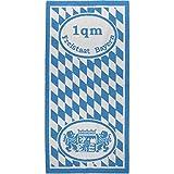 Freistaat Bayern Serie Frottier Handtuch Duschtuch 67x150 cm Quadratmeter Tuch, Größe:67x150 1qm Bayern