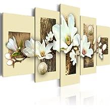 murando - Cuadro en Lienzo 200x100 cm - Impresion en calidad fotografica - Cuadro en lienzo tejido-no tejido - flores 030110-16