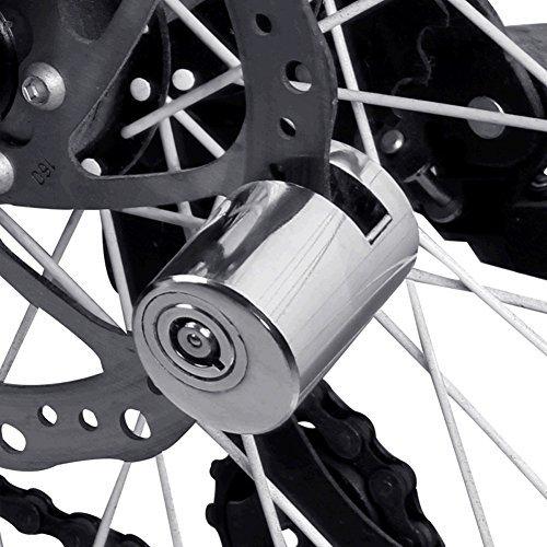 Extrbici Serratura antifurto per freno a disco, blocco disco rotore per bici, moto e bici elettrica, 5,5mm