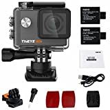 Thieye i60e Wifi 4k Action Cam 12MP HD 1080P  Impermeabile Sport Action Camera con 2.0' Schermo LCD...