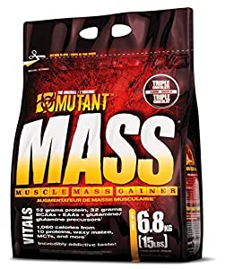 PVL Mutant Mass 6800 g Chocolate Hazelnut Weight Gain Shake Powder from FITFOODS