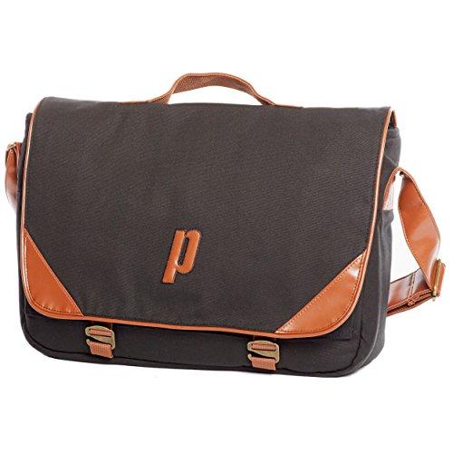 Prince Classic Messenger Bag Taschen, schwarz, 70 x 50 x 10 cm, - Prince Tennistaschen
