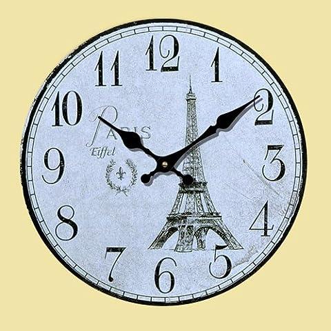 CLG-FLY moda moderna retro simple Creative Arts Europa y el salón del Reloj de pared#8