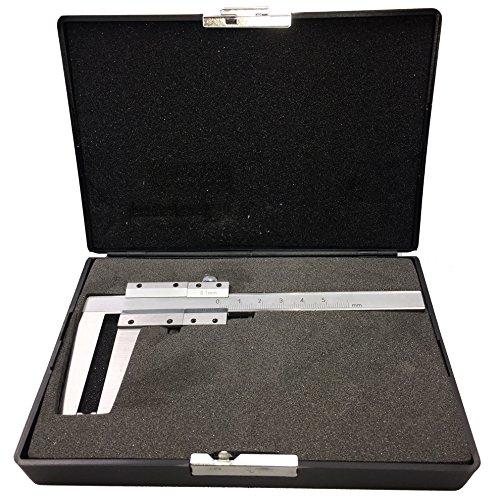 Messschieber für Bremsscheiben bis 60 mm Schieblehre Werkzeug Nonius 1/10 mm Länge 160 mm