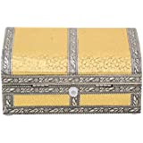 Craft Zone Dry Fruit Box, Serving Tray, Decorative Platter, Beautiful Snack Box With Meenakari Work(09 Half Round Dry Fruit Box)