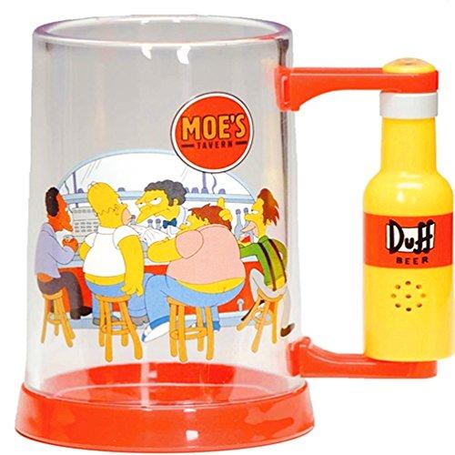 The Simpsons Bier-Krug Bier Glas Homer Simpson 600 ml (Bier Homer)