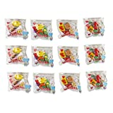#2: Parteet New Mix Shapes Erasers in A Pouch - Pack of 12 for Birthday Party Return Gifts for Kids