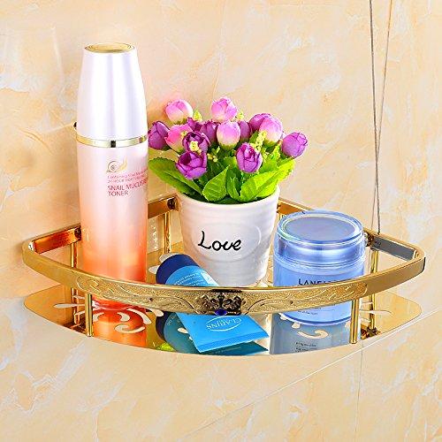 KHSKX Oro accessori per bagno bagno appeso