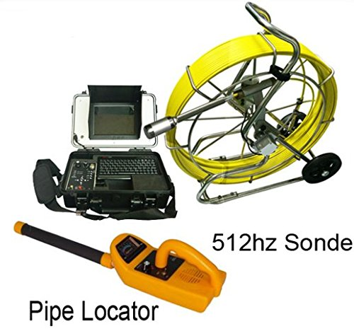 40mm selbstjustierend Kamera Rohr-Inspektion System mit 9mm 120m Kabel und Locator 512Hz