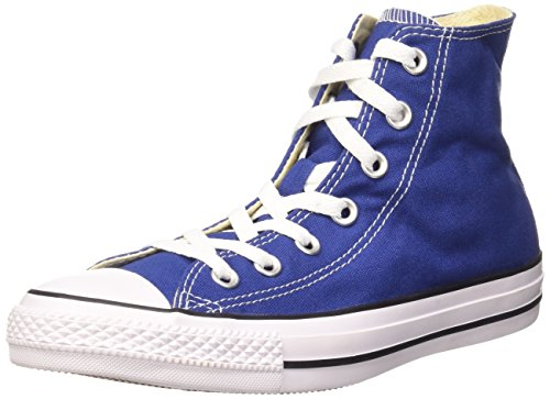 Converse Sneaker All Star Hi Canvas, Sneakers Unisex Adulto, Blu (Roadtrip Blue/White/BlackRoadtrip Blue/White/Black), 39 EU