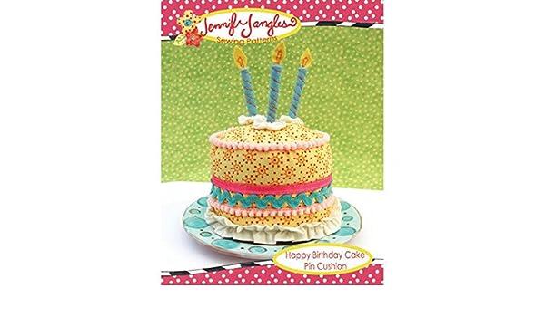 Jennifer Jangles Patron De Couture Facile Happy Birthday Cake