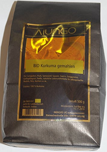Viungo® Goldline - Orgánico cúrcuma en polvo - 500 g