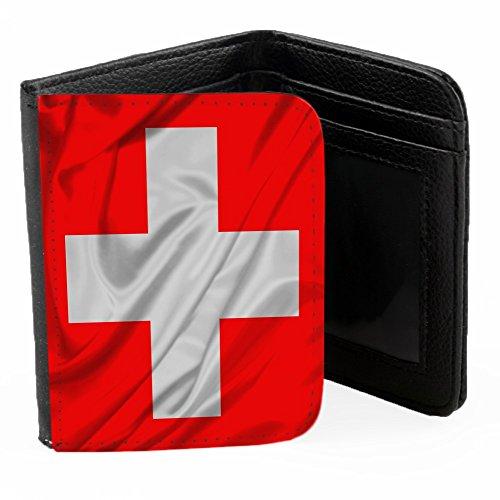 drapeaux-suisse-saluer-de-la-main-noir-pu-portefeuille-ripper-portefeuille-wallet-avec-fentes-pour-c