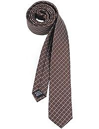 RAY±JAY Schmale karrierte Krawatte 5cm handgenŠht