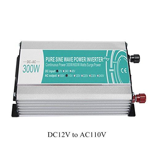 Preisvergleich Produktbild Tutoy Dc12V To Ac110V/Ac220V 300 W Pure Sinus Power Inverter Circuits Off Grid-A