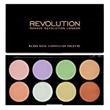 MAKEUP REVOLUTION Ultra Base Corrector Palette, 13 g