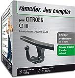 Rameder Attelage démontable avec Outil pour CITROËN C3 III + Faisceau 7 Broches...