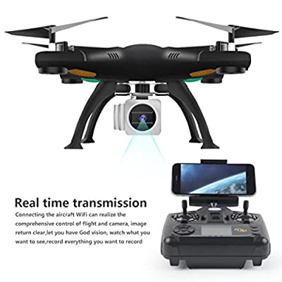 RC Mini Drone, Helicopter RC Quadcopter [ Selfie Foldable Wifi FPV Drone] Wide Angle 2.4G 6AXIS Altitude Hold UAV Helicopter Hover Aircraft [Easy to Fly for Beginner] Gift For Kids/ Adult