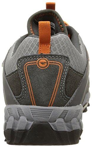 Hi-Tec Accelerate WP, Multisport Outdoor Homme Orange (Graphite/Grey/Orange)