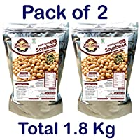 Non GMO U.S. Soyabean 1 Kg (Pack of 2)