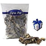 Lyra Pet 5 kg getrockneter Pansen Leckerli Kausnack vom Rind 2-10 cm +Geschenk