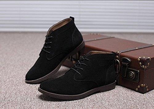 caldo Stivali PYL Cashmere black e Uomo Anti stivali Martin HL 7HAqwtP7
