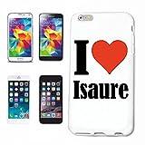 Reifen-Markt Handyhülle passend/kompatibel für iPhone 6 I Love Isaure Hardcase Schutzhülle Handycover Smart Cover Die Handyhülle Wird Nicht von Apple produziert oder verkauft