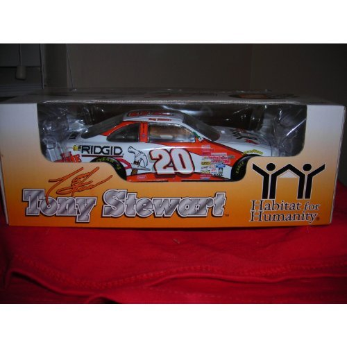 1999Tony Stewart # 20Pontiac Grand Prix Home Depot/Habitat 4Humanity 1: 24by Racing Collectible Tony Stewart Home Depot Racing