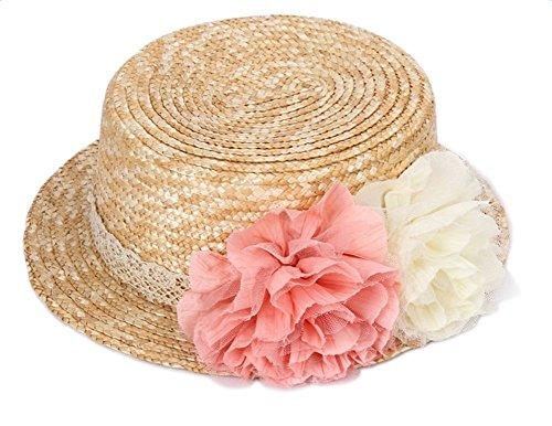 Leisial Sombrero Paja Arco Elegante Playa Natación
