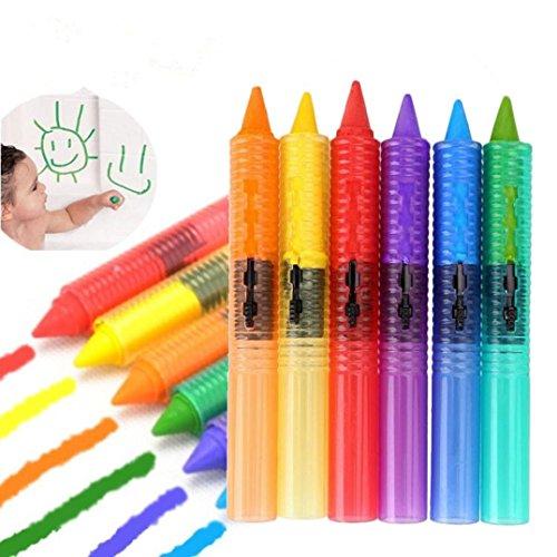 Omiky® 6 STÜCKE Baby Kinder Waschbar Bath Crayons Bathtime Spielen Lernspielzeug