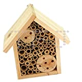 Wooden Insect And Bee Hotel Box (Pack of 1)