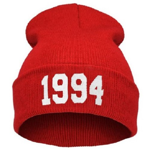 beanie-gorro-gorro-bad-hair-day-fuckin-problema-comme-des-fuckdownhitachi-nuevo-200-models-1994-red-