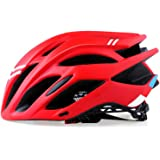 Festnight Adult Bike Helmet Cycle Mountain Helmet for Mens Womens Safety Protection Comfortable Lightweight Breathable