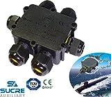 Sucre AUX® 24A 450V 6Wege IP68Wasserdicht Elektrisches Kabel Wire Connector Abzweigdose