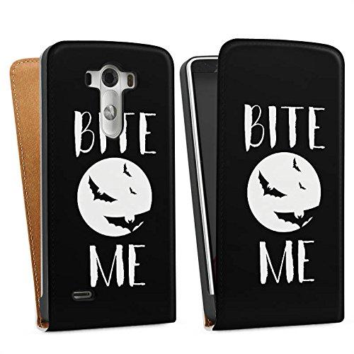 LG G3 Tasche Hülle Flip Case Halloween Fledermaus Vampire (G3-fledermaus-tasche)