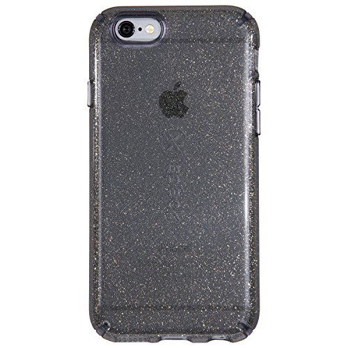 premium selection a9615 b7249 Speck CandyShell Glitter Case for iPhone 6/6s - Onyx/Gold Glitter/Clear