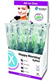 Disposable Self Foaming Toothbrush with xylitol (Pack of 5 toothbrushes)