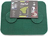 StayPut ECO PER Non-Slip Fabric Placemat + Coaster Set. 6 mats , 6 coasters.
