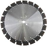 PRODIAMANT Profi Diamant-Trennscheibe Beton/Granit Oxx 350 mm x 20 mm Diamanttrennscheibe PDX82.118 350mm für Naturstein, Betonprodukte, mittelharte bis harte Materialien