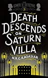 Death Descends on Saturn Villa by M.R.C. Kasasian front cover