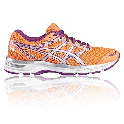 Asics Silver sur Coral Chaussures Flash Gel pour de Excite Orchid Course Entraînement 4 Femme Multicolore Route rHrqwaxF6