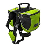 Hi Suyi Polyester Pet Dog Pack Hound Reisen Camping Wandern Rucksack Satteltasche für Mittel Große Hunde