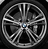 Original BMW Alufelge 3er F30-F31 Sternspeiche 407 Glanzgedreht in 19 Zoll für hinten