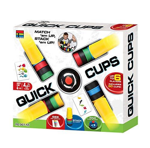 LCF Lernspiel Für Kinder Schneller Stapelbecher Spiel Interaktives Spielzeug Der Frühen Kindheit