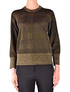 Burberry Mujer MCBI056300O Negro/Oro Suéter