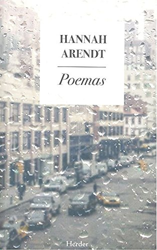 Poemas. (Hannah Arendt) por Hannah Arendt